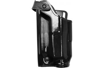 Safariland 6280 Level Ii Retention Mid Ride Holster Hi Gloss Black Left Hand 6280 7712 92