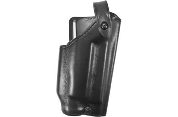 Safariland 6280 Level II Retention, Mid-Ride Holster, Plain Black, Right, Glock 17