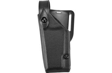 Safariland 6280 Level II Retention, Mid-Ride Holster - STX TAC Black, Left Hand, Taser X26