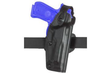 Safariland 6281 Belt Holster, Self-Locking System - Plain Black, Right Hand 6281-1740-61
