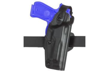 Safariland 6281 Belt Holster, Self-Locking System - Plain Black, Right Hand 6281-295-61