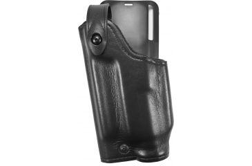 Safariland 6285 1.50in Belt Drop, Level II Retention Holster, Plain Black, Left Hand, Sig P229R DAK