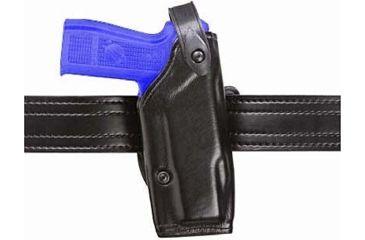 Safariland 6287 Concealment SLS Belt Holster - Plain Black, Left Hand 6287-174-62