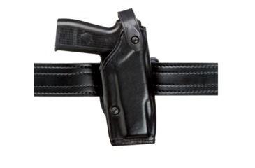 Safariland 6287 Concealment SLS Belt Holster - Plain Black, Right Hand, 1.5in. Belt Loop Slot 6287-283-61-150