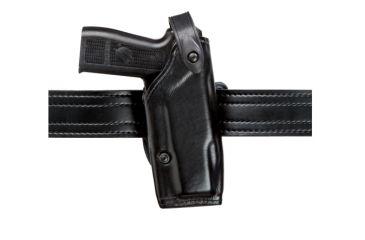 Safariland 6287 Concealment SLS Belt Holster - Plain Black, Right Hand, 2.25in. Belt Loop Slot 6287-297-61-225
