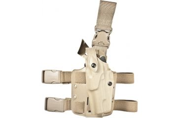 Safariland 6305 ALS Tactical QR Holster - STX FDE Brown, Left Hand - S&W 1911