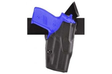 Safariland Model 6320 ALS Duty Holster - STX Plain Black, Left Hand 6320-84-412