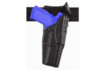 Safariland Model 6325 ALS; Duty Holster - STX Basket Weave, Left Hand 6325-832-482