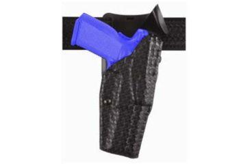 Safariland Model 6325 ALS; Duty Holster - STX Basket Weave, Right Hand 6325-683-481