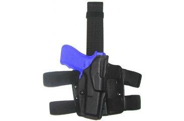 Safariland 6354 ALS Tactical Thigh Holster - STX FDE Brown, Left Hand 6354-774-552