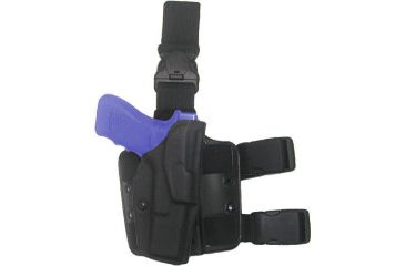 Safariland ALS Tactical Thigh Holster - STX Tactical Black, Left 6355-8310-132