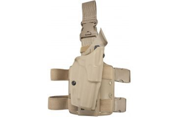 Safariland 6355 ALS Tactical Thigh Holster, STX FDE Brown, Right Hand, Sig P226