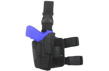 Safariland 6355 ALS Tactical Thigh Holster - STX Tactical Black, Right Hand 6355-783-131