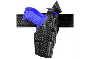Safariland 6360 ALS Level II Plus w/ Ride UBL Holster - Hi Gloss Black, Right Hand 6360-74-91