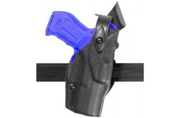 Safariland 6361 ALS Belt Slide Holster w/ SLS - Plain Black, Left Hand 6361-683-62
