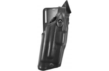 Safariland 6365 ALS Level II Plus w/ Drop UBL Holster, Plain Black, Right Hand, Glock 17