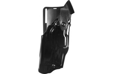 Safariland 6365 ALS LVL 2PL Drop UBL Holster, Hi Gloss, Right Hand - S&W M&P 9mm w/Light