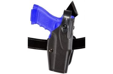 Safariland 6367 ALS Belt Slide Holster - Plain Black, Left Hand 6367-783-62