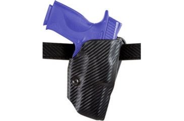 Safariland ALS Belt Holster - STX Plain Black, Left 6377-920-412