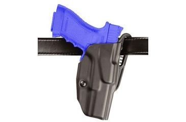 Safariland 6377 ALS Belt Loop 1in Drop Holster - STX Plain Black, Right Hand, S&W M&P