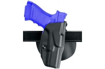 Safariland 6378 ALS Paddle Holster - STX Plain Black, Left Hand 6378-83-412