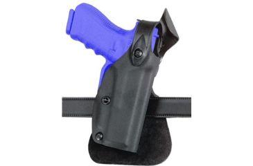 Safariland 6518 Concealment SLS Paddle Holster - Plain Black, Left Hand 6518-68321-62