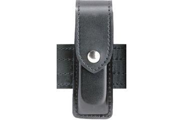 Safariland 76 Single Handgun Magazine Pouch - Basket Black, Ambidextrous 76-97-4B