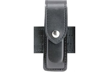 Safariland 76 Single Handgun Magazine Pouch - Plain Black, Ambidextrous 76-83-2HS