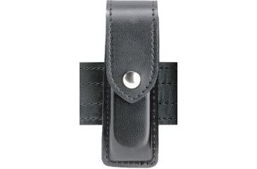 Safariland 76 Single Handgun Magazine Pouch - Plain Black, Ambidextrous