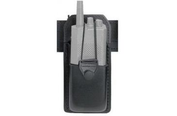 Safariland 762 Radio Carrier, Swivel 762-XX-4 - 1.25in (32mm) Deep x 3.00in (75mm) Wide x 4.5in (118mm) High)