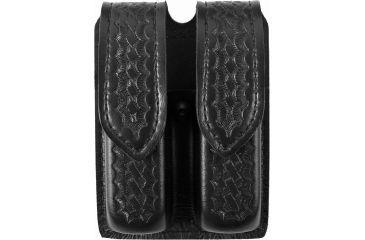 Safariland 77 Double Handgun Magazine Pouch - Basket Black, Ambidextrous - Glock 17/22, Sig P229 & Similar