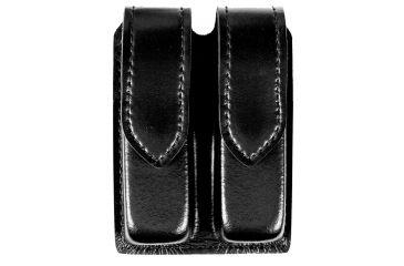 Safariland 77 Double Handgun Magazine Pouch, Plain Black