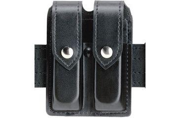 Safariland 77 Double Handgun Magazine Pouch - STX TAC Black, Ambidextrous 77-83-13PBL