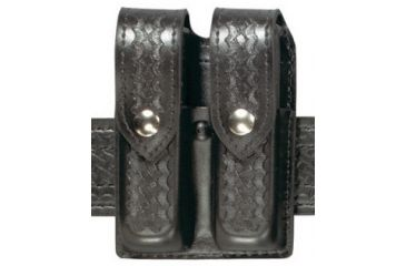 Safariland 77M Magazine Holder, Double, Super Duty 77-383-4MPBL