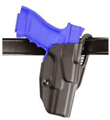 Safariland ALS Belt Holster, Right Hand, STX Plain Black 1.75in. Belt Slots with Paddle Only 6377-219-411-175-K14