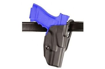 Safariland ALS Belt Holster, Right Hand, STX Plain Black 2in. Belt Slots 6377-219-411-50