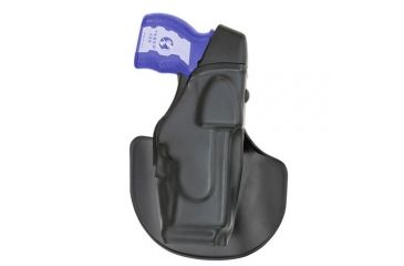 Safariland ALS EDW Holster with Paddle - STX Plain Black Black, Left Hand 6348-64-412