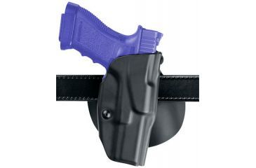 Safariland ALS Paddle Holster - STX Plain Black, Left 6378-145-412