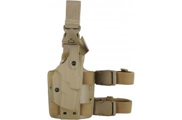 Safariland ALS Tactical Holster, Quick Release Leg Harness, Brown, Right 6305278551