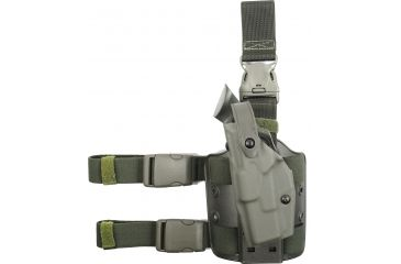 Safariland  ALS Tactical Holster, Quick Release - OD Green, Left 6305283562