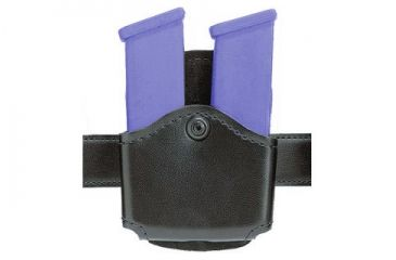 Safariland Concealment Magazine Holder, Paddle, Double - STX Plain Black Black 572-76-41