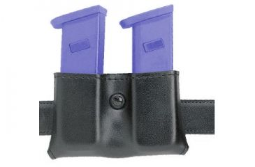 Safariland 079 Concealment Magazine Holder, Snap-On, Double - Plain Black, Ambidextrous 079-89-6