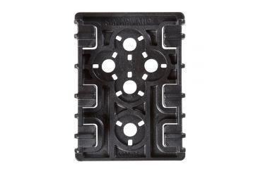 1-Safariland ELS 35 Receiver Plate, Black 6004-35-2