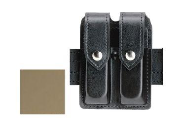 Safariland 77 Double Handgun Magazine Pouch - FDE Brown, Ambidextrous 77-83-553PBL
