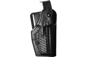 Safariland 6280 Level II Mid-Ride Holster, Basket Black, Right Hand - H&K USP 45C - 293-81