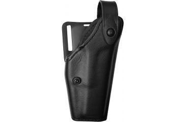 Safariland 6280 Level II Mid-Ride Holster, Plain Black, Right Hand w/2in. Belt Loop Slot - Glock 20, 21 - 383-61-2