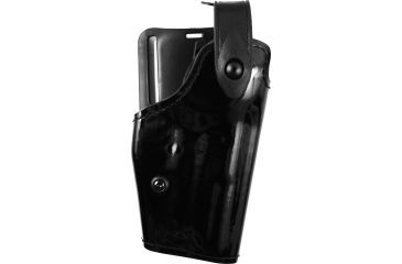 Safariland 6280 Level II Retention, Mid-Ride Holster - Hi Gloss Black, Right Hand, Sentry Protection 6280-74-91-S
