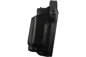 Safariland Level II Retention, Mid-Ride Holster - Plain Black, Right 6280-5621-61OBL