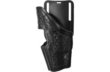 Safariland 2955 Low-Ride Level II Holster, Basket Black, Left Hand - Glock 20, 21, 29, 30 - 383-82