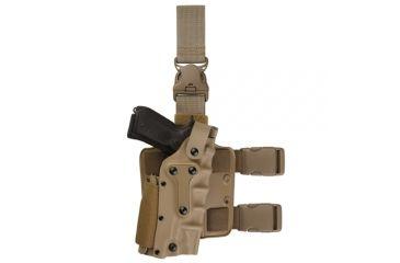 Safariland Military Tactical Holster - STX Tactical Black, Left 3085-73-132